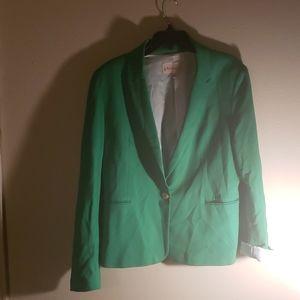 Philosophy green blazer.